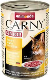 ANIMONDA  CARNY Senior Wołowina, kurczak i ser 400g
