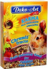Dako-Art Chrumiś Fructo - dla królików i gryzoni 500g