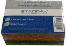 Starpak Wkład do kubika kolorowy klejony 90x65 mm (133391)
