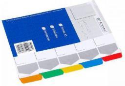 Starpak Przekładka kartonowa A5 5 kolorów (179878)