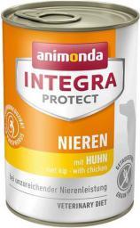 ANIMONDA  INTEGRA PIES 400G PROTECT NIEREN KURCZAK NIEWYDOLNOŚĆ NEREK