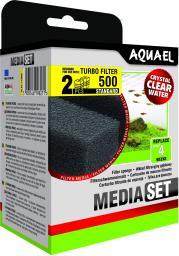 AQUAEL  Wkład gąbkowy do filta Turbo 500 2 szt. (113908)