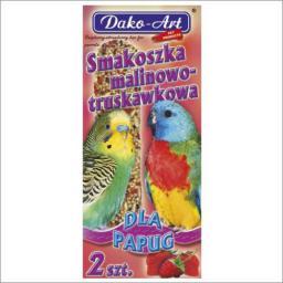 Dako-Art Smakoszka Papuga Malinowo-truskawkowa