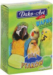 Dako-Art Wapno Dla Ptaków - Jabłko Duża Kostka 1szt. 110g