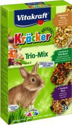 VITAKRAFT  Kracker dla królika Mix 3szt.