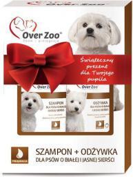 OVER ZOO ZESTAW dla psów o białej i jasnej sierści - szampon i odżywka