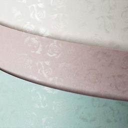 Argo Papier ozdobny (wizytówkowy) małe róże biel 220g A4 20 ark
