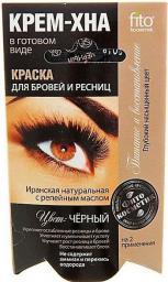 Fitocosmetics Kremowa henna do farbowania brwi i rzęs Czarna 2x2ml