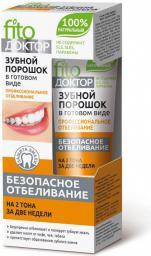 Fitocosmetics Proszek do zębów w gotowej formie Ziołowy 45ml