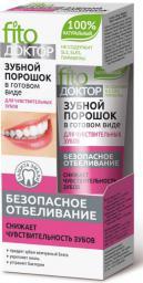 Fitocosmetics Proszek do zębów w gotowej formie Sensitive 45ml