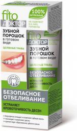 Fitocosmetics Proszek do zębów w gotowej formie Rośliny Lecznicze 45ml