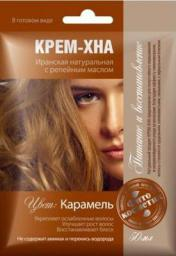 Fitocosmetics Kremowa henna z olejem łopianowym Karmel 50ml