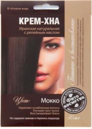 Fitocosmetics Kremowa henna z olejem łopianowym Mokka 50ml