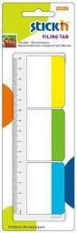 Stickn Zakładki do archiwizacji 37x50mm 3 kolory neon (241325)