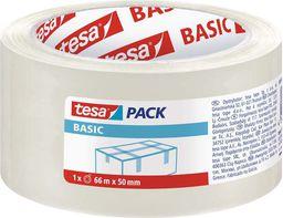 Tesa Taśma pakowa przezroczysta Basic 50mm/66m (58570-00000-00 TS)