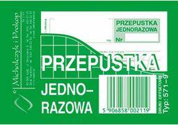 MICHALCZYK I PROKOP D PRZEPUSTKA JEDNORAZOWA  A7   571-9  - 571-9
