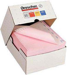 """Drescher Papier do drukarki igłowej 240x12""""x2 240x12"""" 60g 900 arkuszy"""
