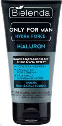 Bielenda Only for Man Hydra Force Żel do mycia twarzy nawilżająco-łagodzący  150ml