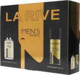 La Rive for Men Men's World Zestaw prezentowy