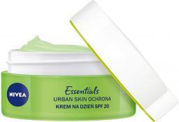 Nivea Essentials Urban Skin Ochrona Krem na dzień Booster Nawilżenia SPF20  50ml