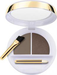 Collistar Flawless Eyebrows Modelling Wax+Coloured Powder modelujący wosk i cienie do brwi 3 Mora
