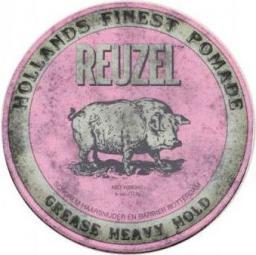 Reuzel Hollands Finest Pomade bardzo mocno utrwalająca pomada na bazie wosków i olejków Pink 113g
