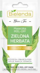 Bielenda Zielona Herbata maseczka do twarzy pell-off 2x5g