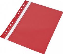 Skoroszyt Panta Plast A4 PP z europerforacją czerwony (20szt) (195872)