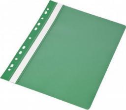 Skoroszyt Panta Plast A4 PP z europerforacją zielony (20szt) (195871)
