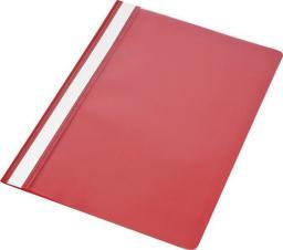 Skoroszyt Panta Plast A4 PP czerwony (10szt) (195874)