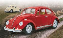 Jamara VW Beatle 1:18, 27MHz, czerwony (405110)
