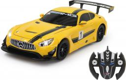 Jamara Mercedes AMG GT3, transformers, 1:14, 2,4GHz, żółty (410029)