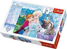 Trefl Puzzle Frozen. Uwolnij magię  30 el. (18225)