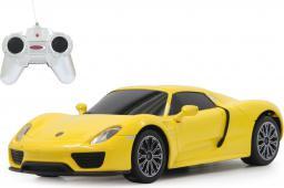 Jamara Porsche 918 Spyder, 1:24, 27Mhz, żółty (404590)