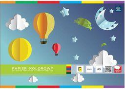 Blok biurowy Interdruk Zeszyt papierów kolorowych A5/10K  (156707)