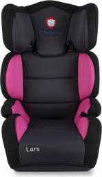 Fotelik samochodowy Lionelo Fotelik 15-36 kg Lars Plus pink