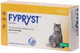 KRKA FYPRYST 50MG/0.5ML SPOT-ON KOTY /10 PIPET/