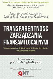 Transparentność zarządzania finansami lokalnymi (147641)