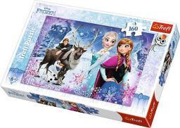 Trefl 160 elementów, Frozen - Zimowe przygody (15344)