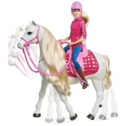 Mattel Barbie Interaktywny koń+lalka FRV36