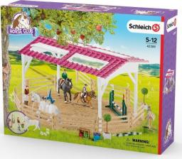 Figurka Schleich Szkola jeździecka z jeźdźcami i końmi (42389)