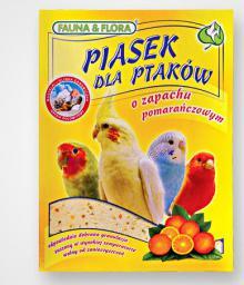 FAUNA and FLORA PIASEK POMARANCZOWY 1KG