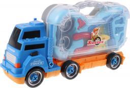 MalPlay Ciężarówka rozkręcana, niebieska z narzędziami (100206)