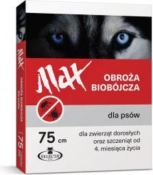 SELECTA H.T.C. OBROŻA BIOBOJCZA MAX PIES 75CM CZERWONA GERANIOL