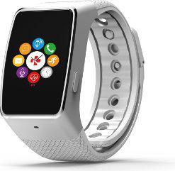 Smartwatch MyKronoz ZeWatch4 HR Biało-srebrny  (ZEGSWMYKLWR4SRS1)