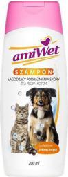 Amiwet Szampon łagodzący podrażnienia dla psa i kota 200ml