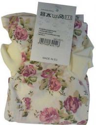 GRANDE FINALE Koszulka pooperacyjna dla kota w kwiatki 25cm