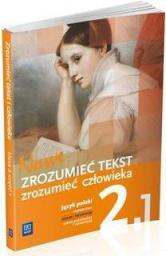 J.polski LO Nowe zrozumieć tekst 2.1 w.2014