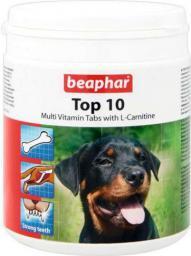 Beaphar TOP 10 Dog - preparat witaminowy z L-karnityną dla psa 750tabletek
