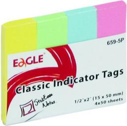 Tung Yung International Ltd. Notes samoprzylepny 15x50 zakładka 659-5P EAGLE (233796)